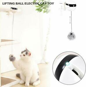 Cat-Toy-Teaser-Yo-Yo-Lifting-Ball-Electric-Flutter-Rotating-Interactive-Pet-Toy