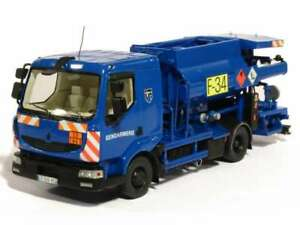 Perfex 1/43 Camion Renault Midlum Avitailleur Gendarmerie Ref700