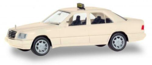 Taxi 094184 Herpa PKW MB E-Klasse W124
