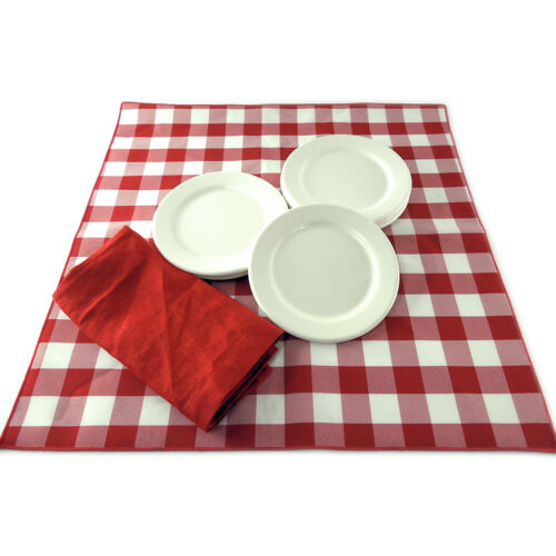 "Case of 72  Heavyweight Restaurant Melamine 6.5/"" Dessert Plates China Appearance"
