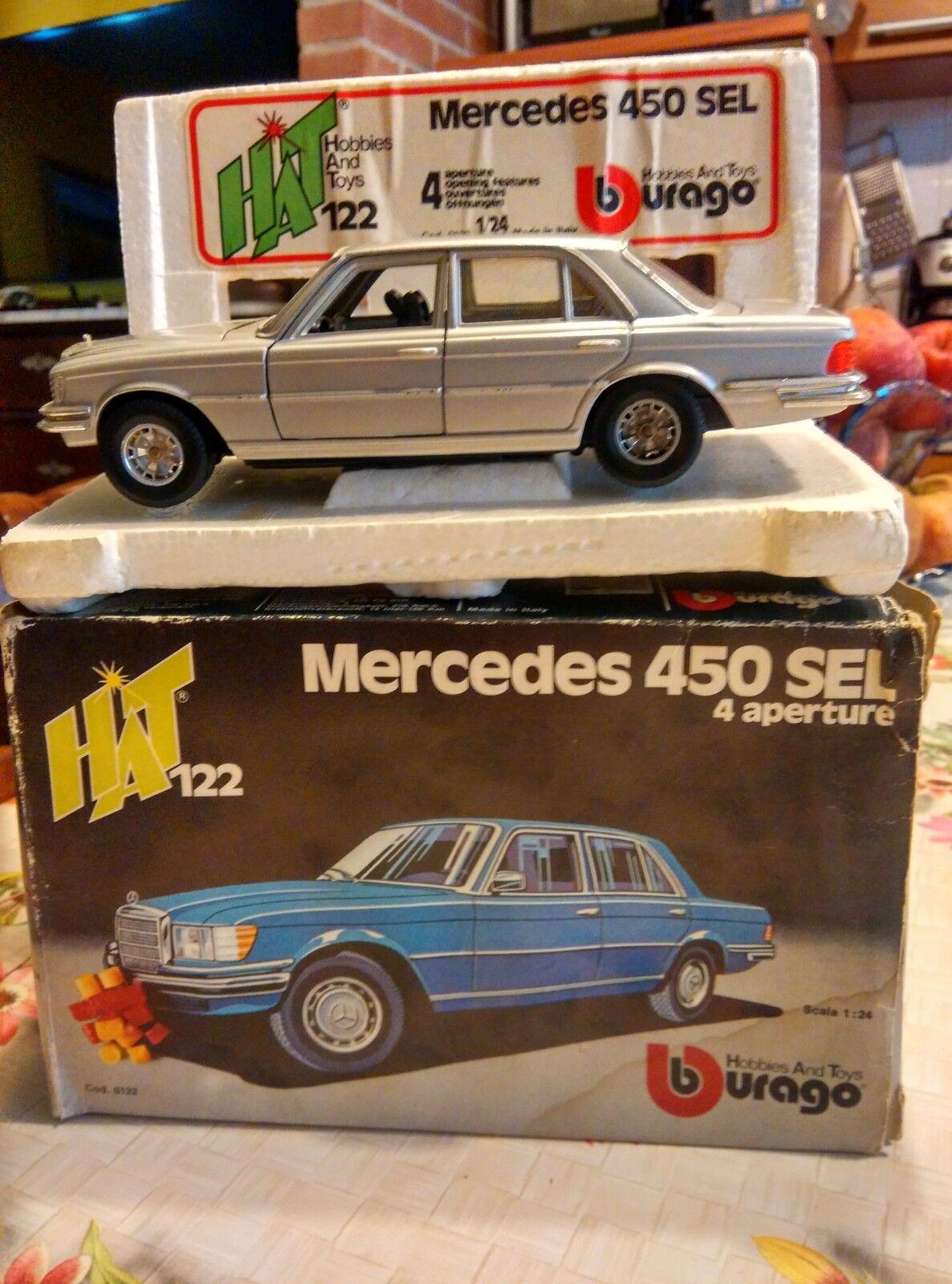 Bburago burago  Mercedes 450 SEL HAT  scala 1/24 with BOX scatola
