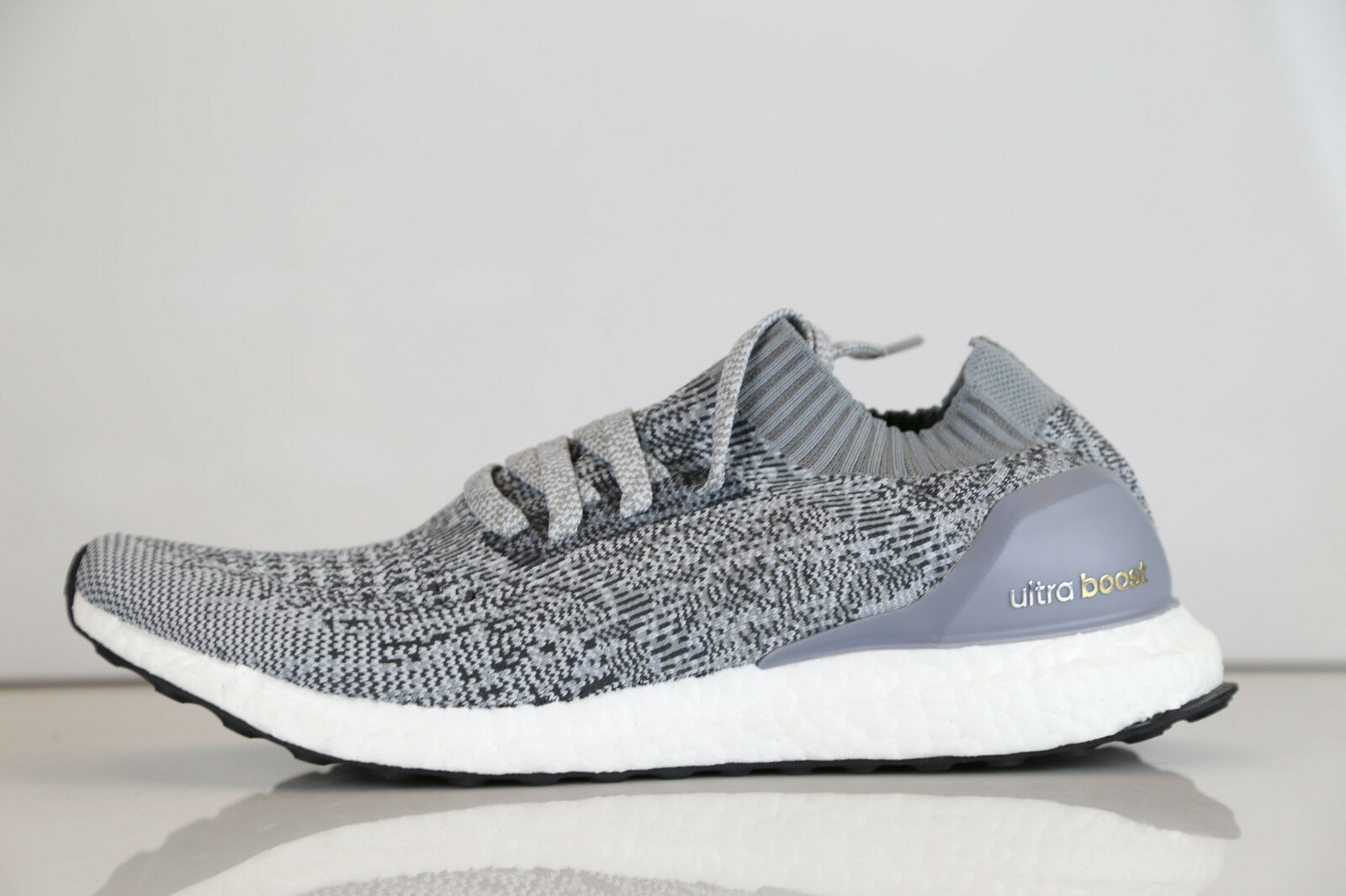 Adidas Ultra Boost Uncaged m Grey prime Charcoal BB3898 8.5-10.5 nmd prime Grey knit pk rf 610f02