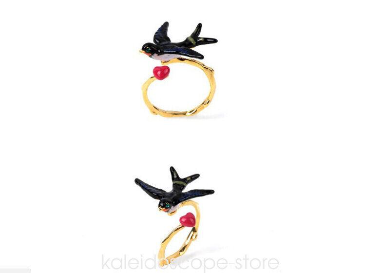 Free size Ring- Les Nereides Swallow Ring Australian shop
