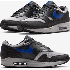 reputable site 47ca3 b082b Image is loading Nike-Air-Max-1-Premium-Rreflective-Safari-Print-