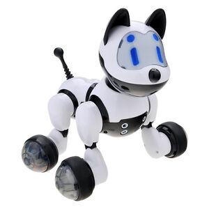 Kids Intelligent Electronic Voice Activated Robot Puppy Kitty Pet Dog Cat Gift