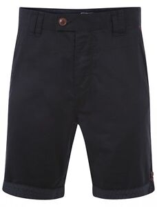 Shorts Chino Le Shark Weller Dunkelblau Chino Hosen Navy Baumwolle Elegant Im Geruch 1g5777