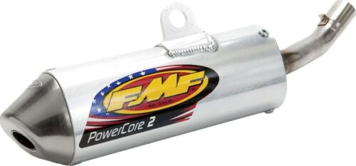 FMF Aluminum PowerCore 2 Shorty Silencer Kawasaki KX125 1999-2002 020241