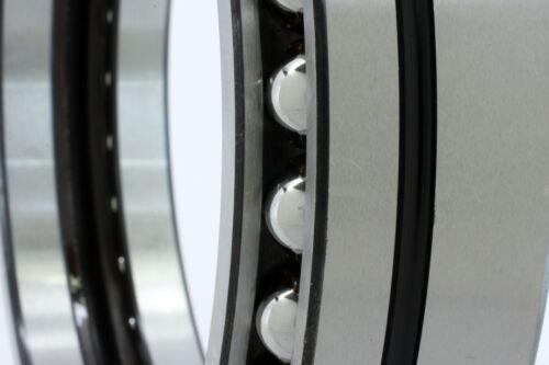 130x166x34 Angular Contact Excavator Ball Bearing Extra Large 130mm ID Diameter