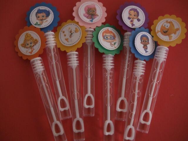 jackiebethtomb - 8 BUBBLE GUPPIES party favors, bubble wands