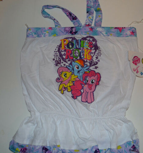 My Little Pony  Girls SleevelessTop SizeS 6//6X M 7//8   X L14//16  NWT Ponies Rock