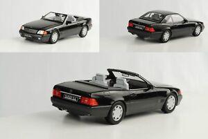 Mercedes-Benz-500-Sl-R129-Convertible-With-Softtop-Black-Metallic-1-18-Kk-Dieca