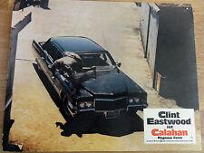 Aushangbild* CALAHAN Dirty Harry II Clint Eastwood Auto 1973