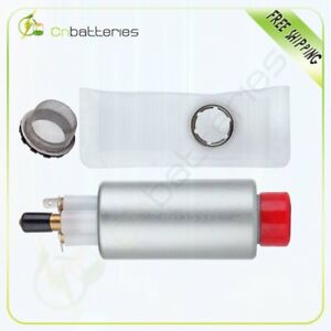 New Electric Fuel Pump & Strainer With Installation Kit