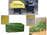 Bandwagon Yellow Vinyl Outdoor Cover Bench Glider Lounge Chaise Small Grill Top