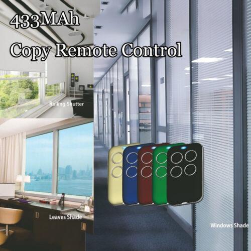 Learning Gate Opener Garage Door Wireless Transmitter 433.92MHz Remote Control