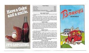1980-Atlanta-Braves-Unfolded-Tri-Fold-Pocket-Schedule-Coca-Cola