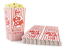Snappy 44 E Red Amp White Open Top Popcorn Boxes 8 Oz 100count