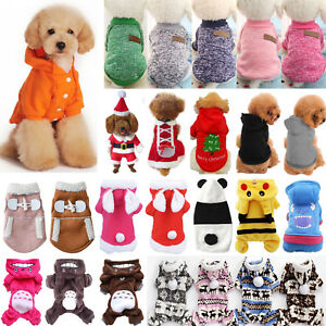 Small-Pet-Hoodie-Sweater-Coat-Jacket-Puppy-Dog-Cat-Winter-Costume-Apparel-Clothe