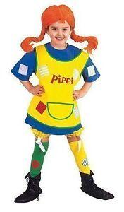 Pippi Langstrumpf Kleider Kostüm Fasching Kinder Ebay