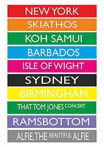 Personalised-Destination-Vintage-London-Bus-Blind-Multi-Coloured-Print-Poster-A2