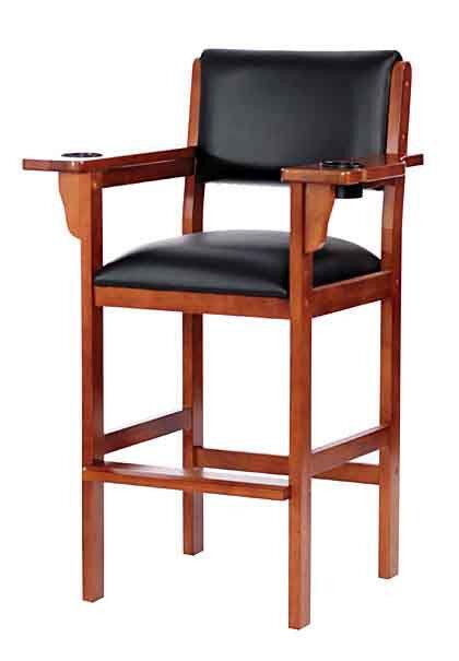 Level Best Billiard Pool Spectator Chair  Oak Mahogany Chestnut Maple  Finish | EBay