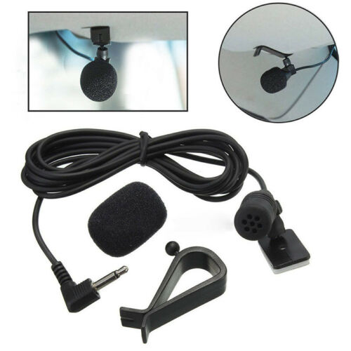 3M*2.5mm Bluetooth External Microphone For Car Pioneer Stereos Radio Receiver