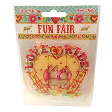 'Fun Fair by Helz Cuppleditch' 'Love Ride' Clear Stamp Set