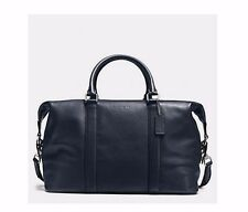 NWT Coach Midnight Voyager Duffel Bag in Sport Calf Leather F54765 MSRP $ 695.00