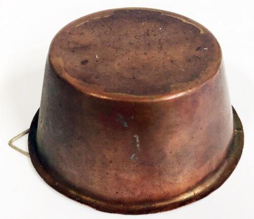 Kupfer Backform Antik Puddingform (Ku-215