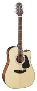 Takamine-GD30CE-NAT-Dreadnought-Cutaway-Acoustic-Electric-Guitar-Natural