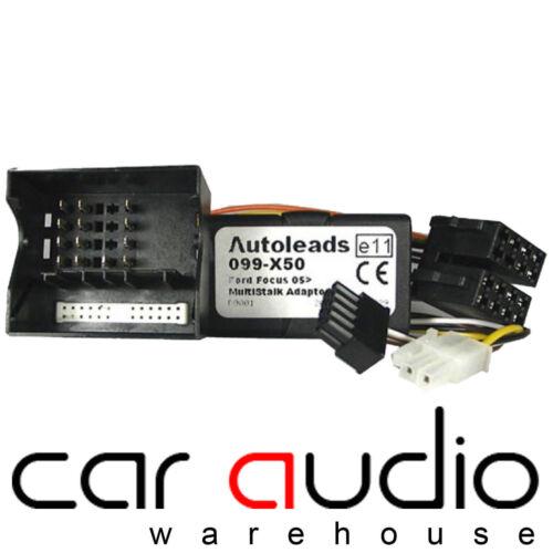 PC99-X50 Pioneer Ford Focus 2005-2007 Car Steering Wheel Interface Adaptor