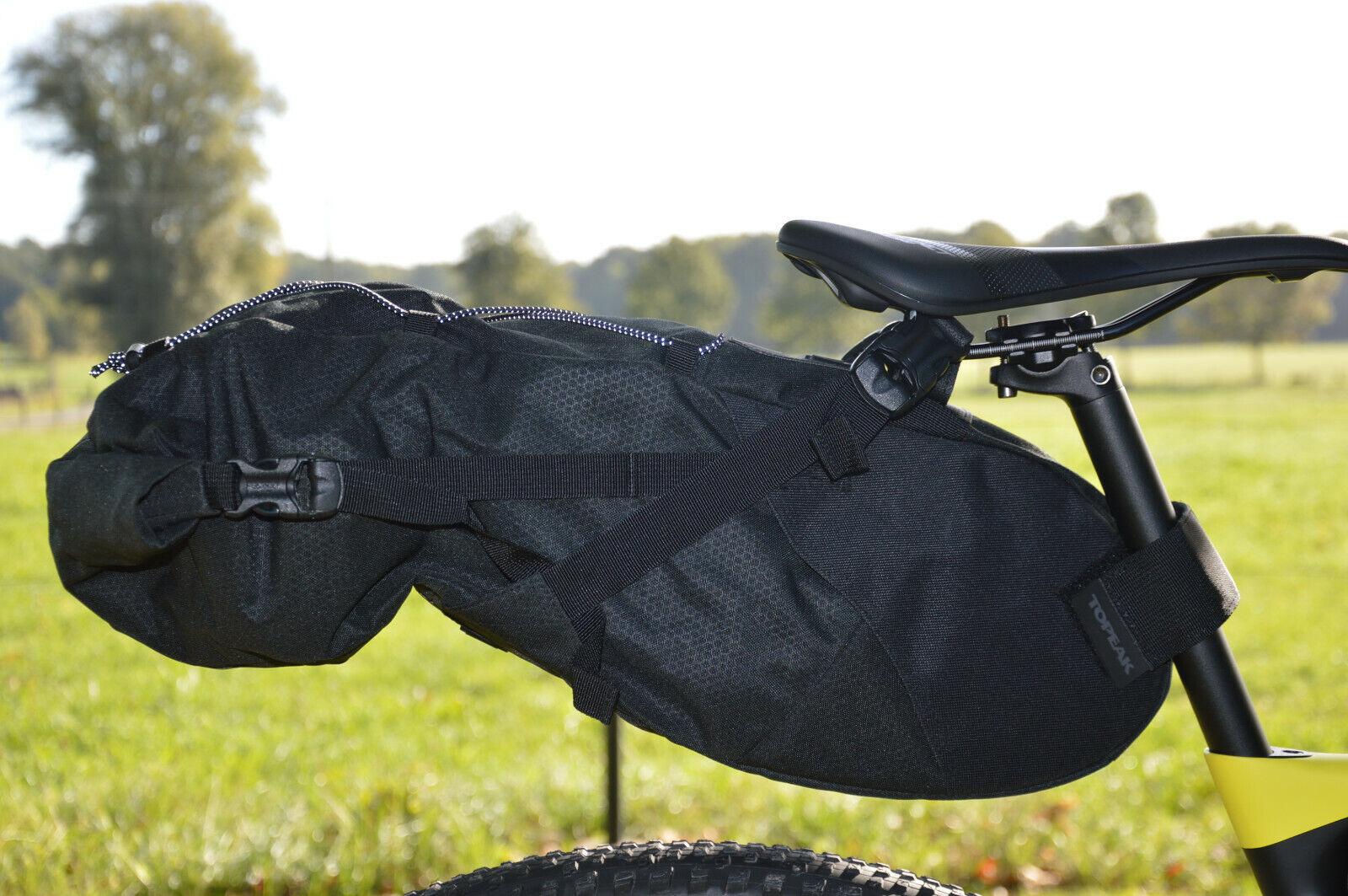 TOPEAK Backloader 15l bikepacking Packsack für Gravel Bike -wasserdicht Innen-