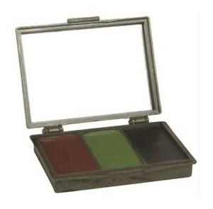 Juego-pinturas-facial-camuflaje-woodland-con-espejo-marron-negro-verde-miltec