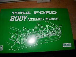 1964 ford galaxie 500 xl custom 500 factory body parts ... 1964 galaxie 500 xl wiring diagram #14