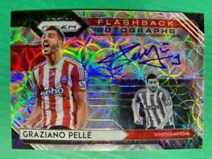 2020-21 Prizm EPL Premier League CHOICE Flashback Auto Autograph Graziano Pelle
