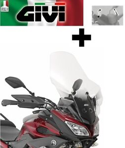 Attacchi D2122KIT Yamaha MT-09 Tracer 2017 Cupolino Trasparente Givi 2122DT