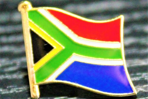 SOUTH AFRICA RSA South African Metal Flag Lapel Pin Badge *NEW*