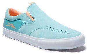 Lakai-Shoes-Owen-VLK-Clearwater-Suede-Slip-on-USA-SIZE-Skateboard-Sneakers