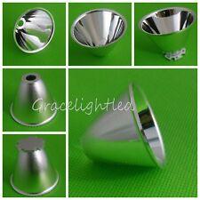 10pc Aluminum Reflector Cup 5 10 For Cree Xr Exm Lxm L2 Q5 T6 Led Flashlight