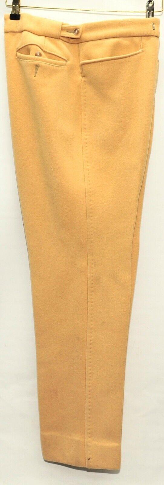 John brockelhurst Peso Pesado Sarga de caballería  Crema Pantalones Tamaño 30  W 30  L  estar en gran demanda