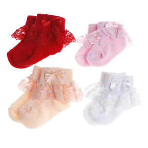 Toddler-baby-girls-princess-bowknot-sock-kids-lace-ruffle-ankle-socks-lovely