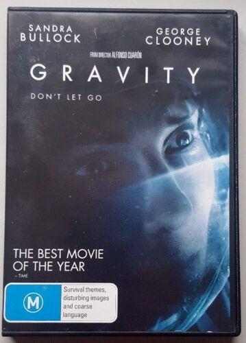 1 of 1 - Gravity (Sandra Bullock & George Clooney) DVD (Region 4)