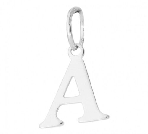 Sterling Silver Small Alphabet Letter Genuine Solid 925 Charms GOOD QUALITY