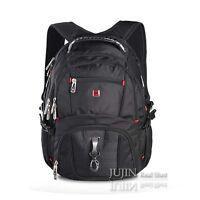 "Heavy Duty 15 17"" 17.3"" Laptop Backpack Computer Notebook School Travel Bag Case"
