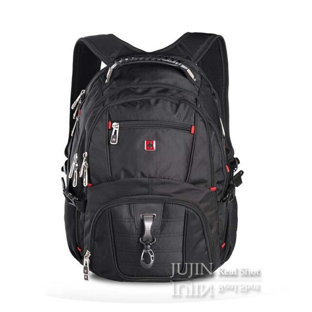 Swiss Army Knife Wenger 17 3 Laptop Backpack Men Travel Bag Scansmart 9850