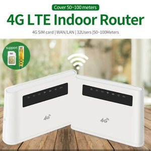 Mobile-4G-LTE-Router-Hotspot-300Mbps-CPE-Support-LTE-Sim-Card-32-user-European