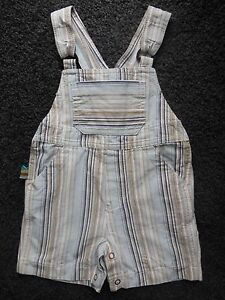 e4ab77245 RUN SCOTTY RUN  BABY BOY OVERALLS DUNGAREES SHORTS SIZE 00 FITS 3-6M ...