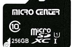 256GB 256GB High Speed Class 10 Micro SD SDXC Card with Adapter Micro SD Card