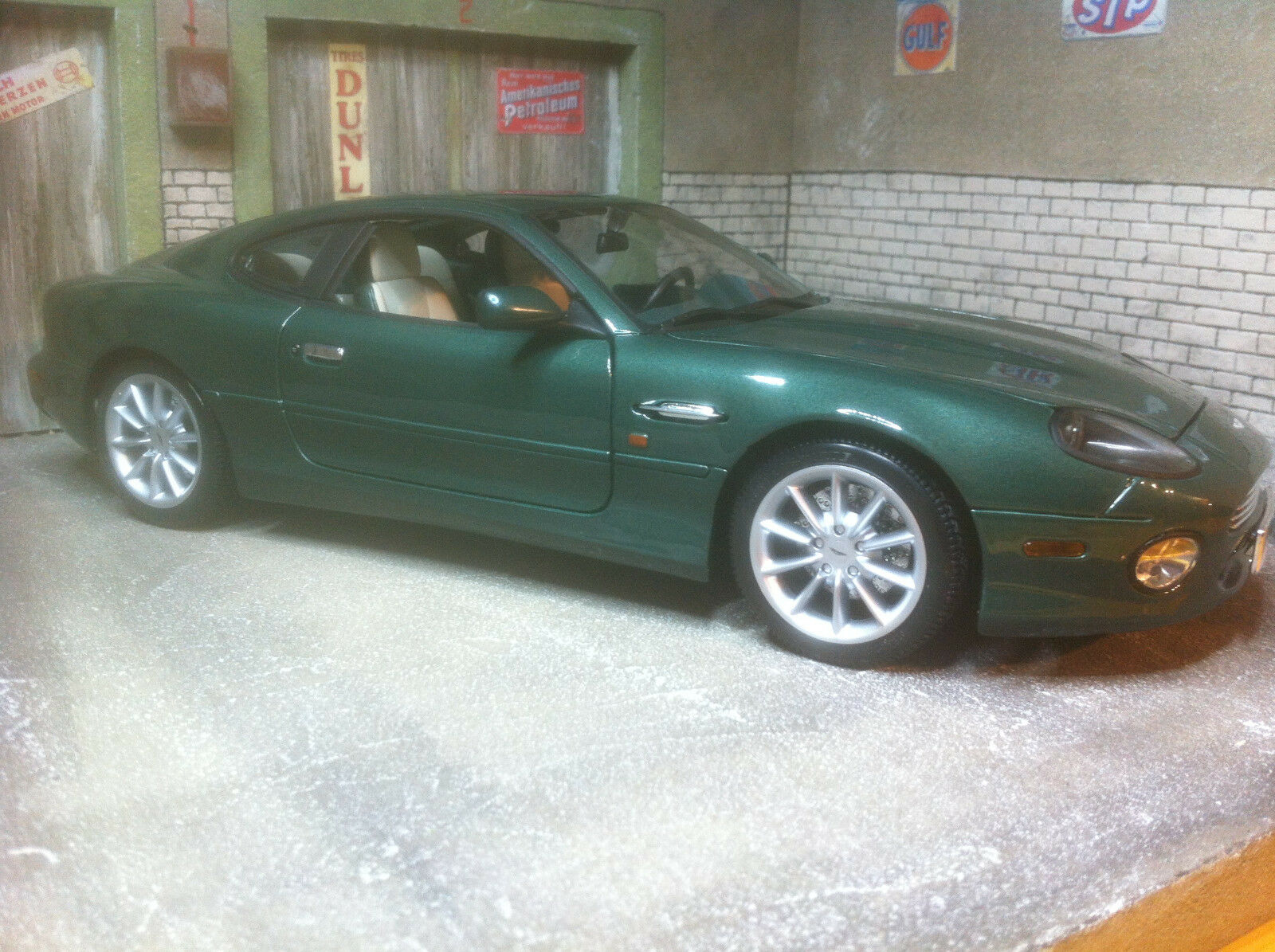 Aston Martin db7 Vantage Modified 1 18 ORIGINALE IN SCATOLA ORIGINALE 18 2159fd