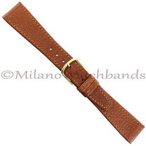 19mm-Hadley-Roma-Dk-Tan-Genuine-Pigskin-Turned-Edge-Stitched-Tapered-Band-711